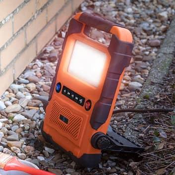 pracovní lampa LED FCL-76011 s reproduktorem