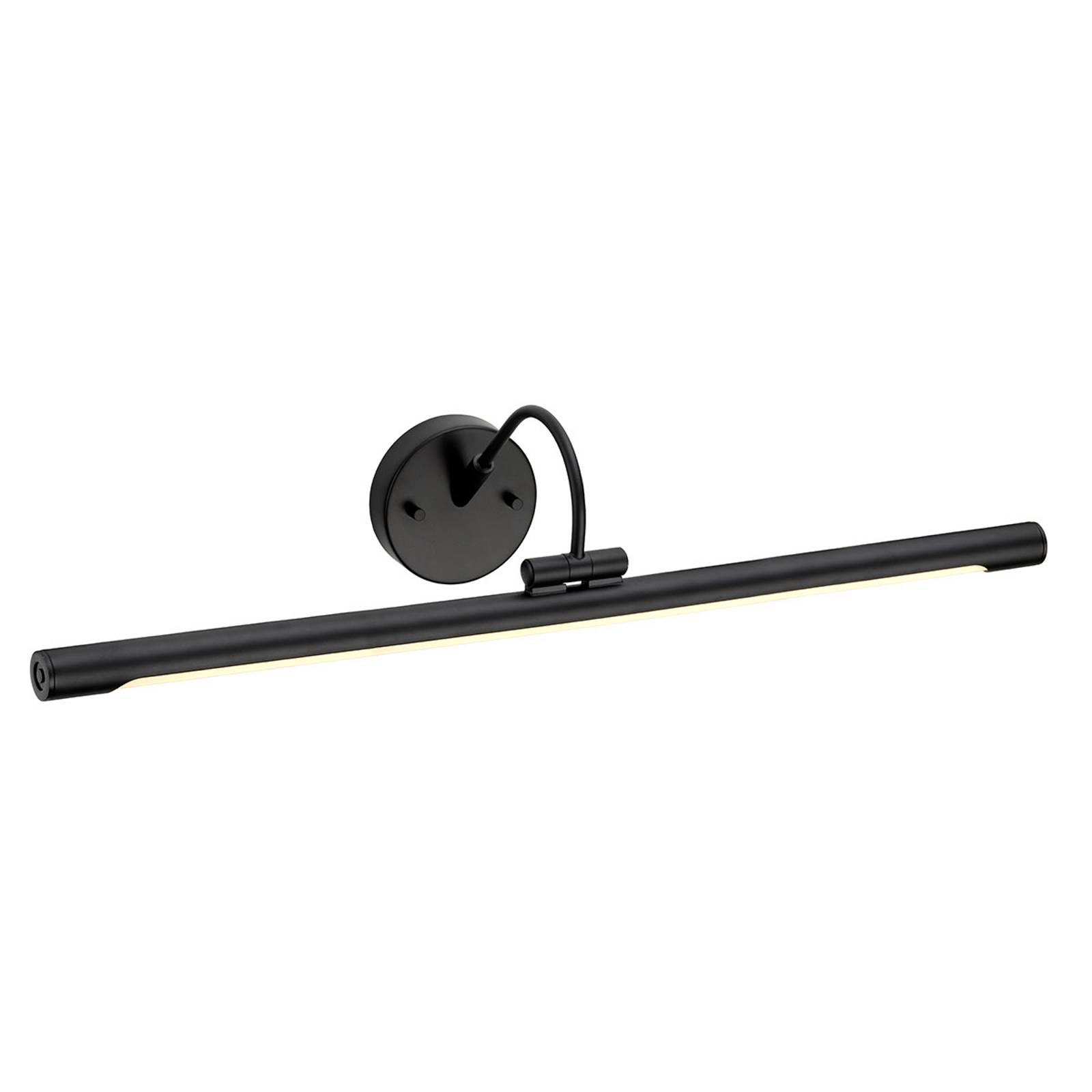 Applique pour tableau LED Alton en noir, 67 cm