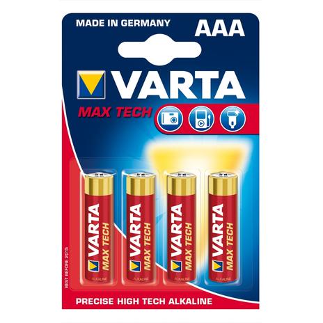 4 baterie Max Tech AAA Micro 4703