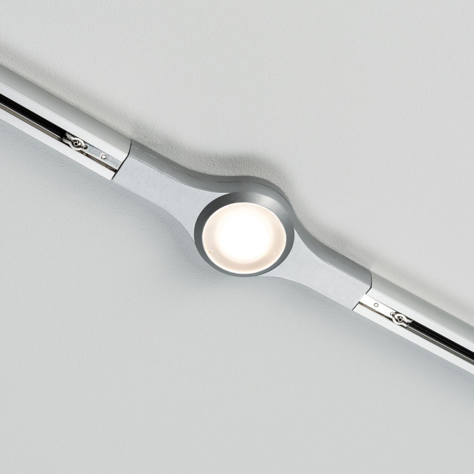 Paulmann URail LED Line Connector, chrom matowy
