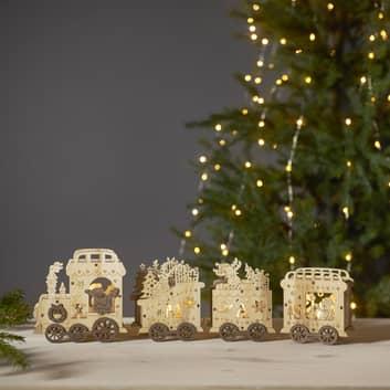 LED-dekorasjonsbelysning Yuletide som juletog