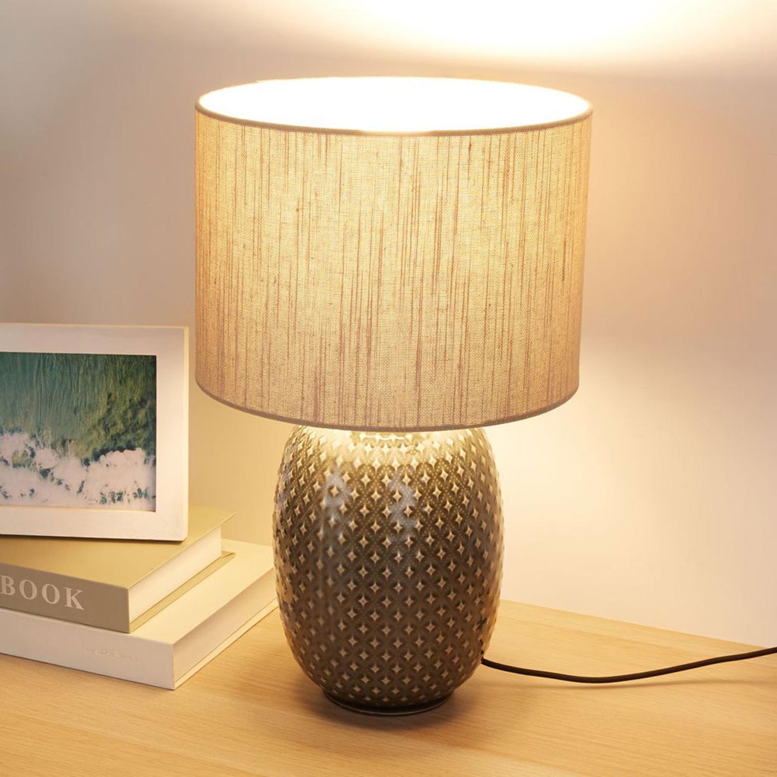 Pauleen Pretty Classy Tischlampe mit Keramikfuß