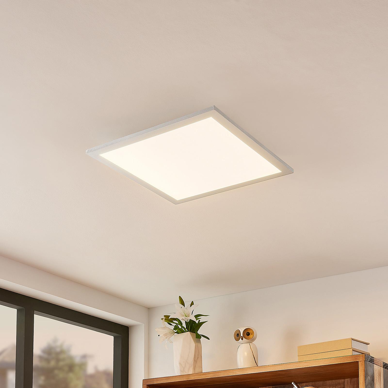 Lindby Kjetil LED-takpanel 40 x 40 cm