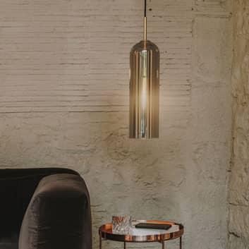 LEDS-C4 Glam lampada a sospensione, vetro fumè
