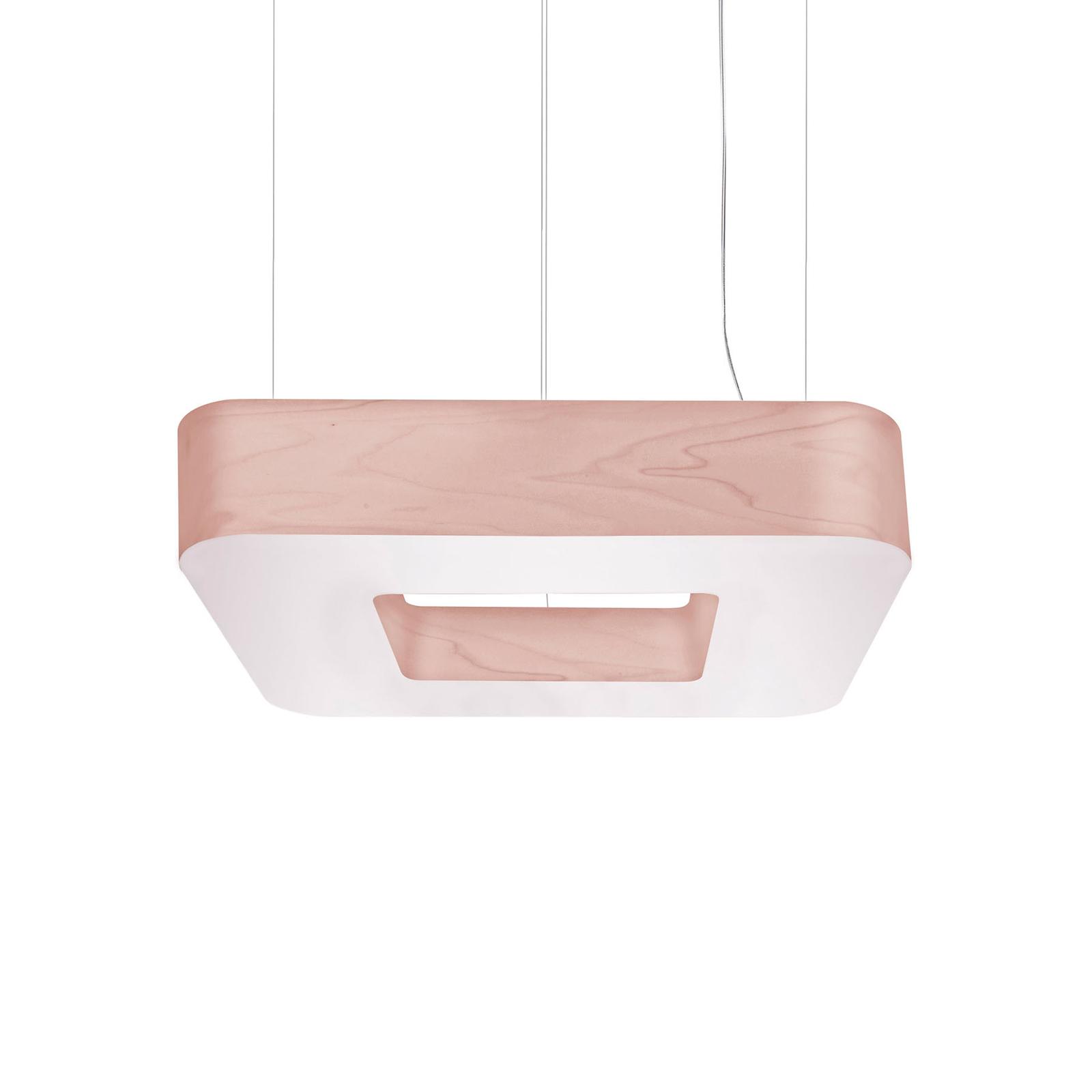 LZF Cuad LED-Hängeleuchte 0-10V dim, rosé