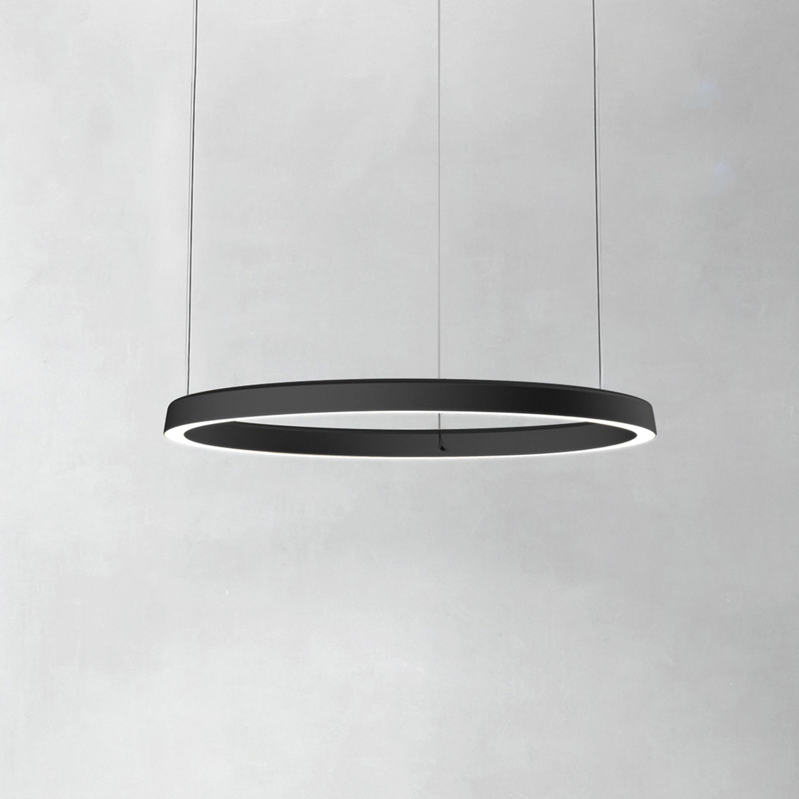 Luceplan Compendium Circle 72cm, schwarz