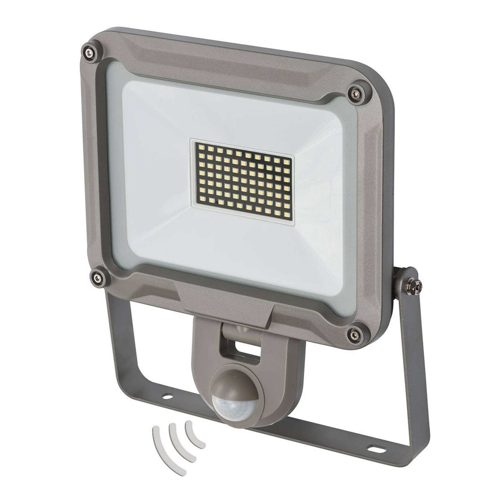 LED buitenspot Jaro met sensor IP44 50W