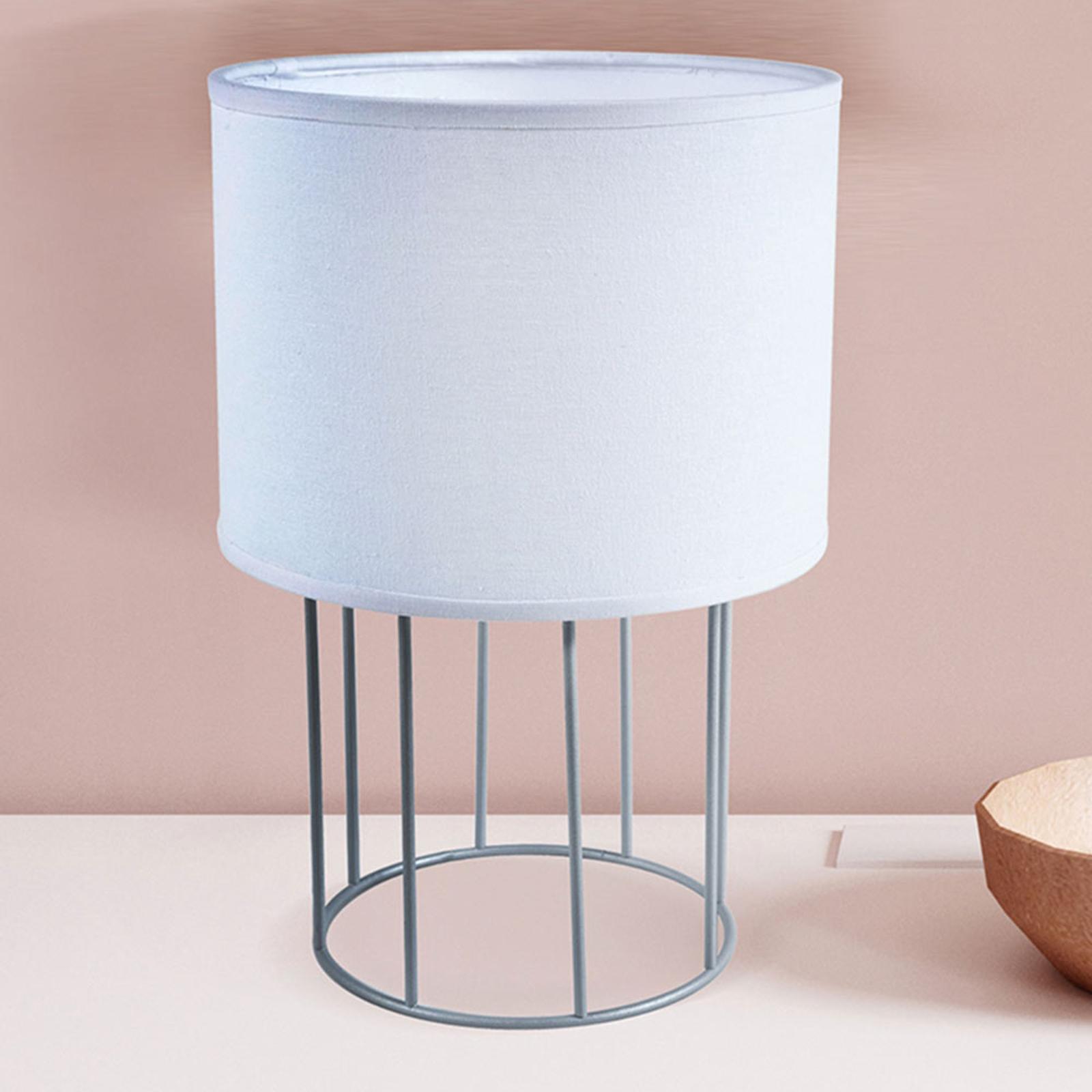 Lampa stołowa Carla S, biała