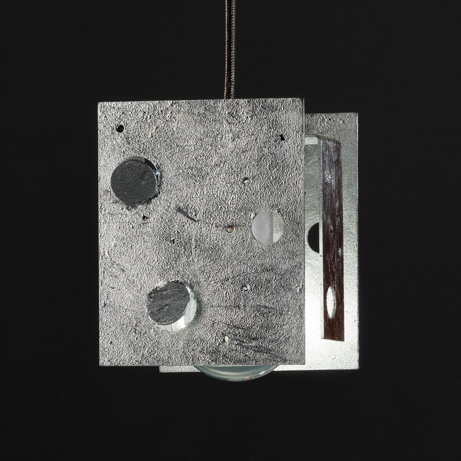 Knikerboker Buchi Hängelampe 13x11x16,5 silber