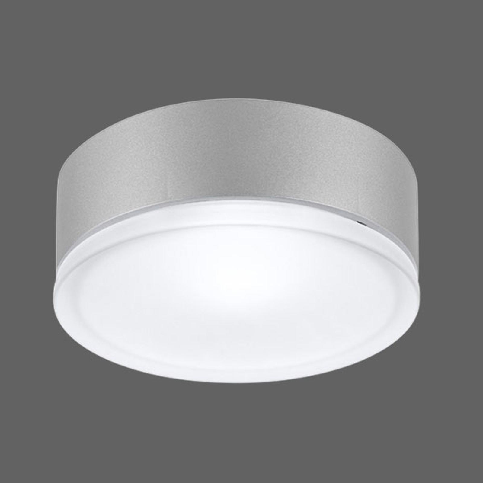 Drop 28 LED Außenwandleuchte in Grau 3.000K