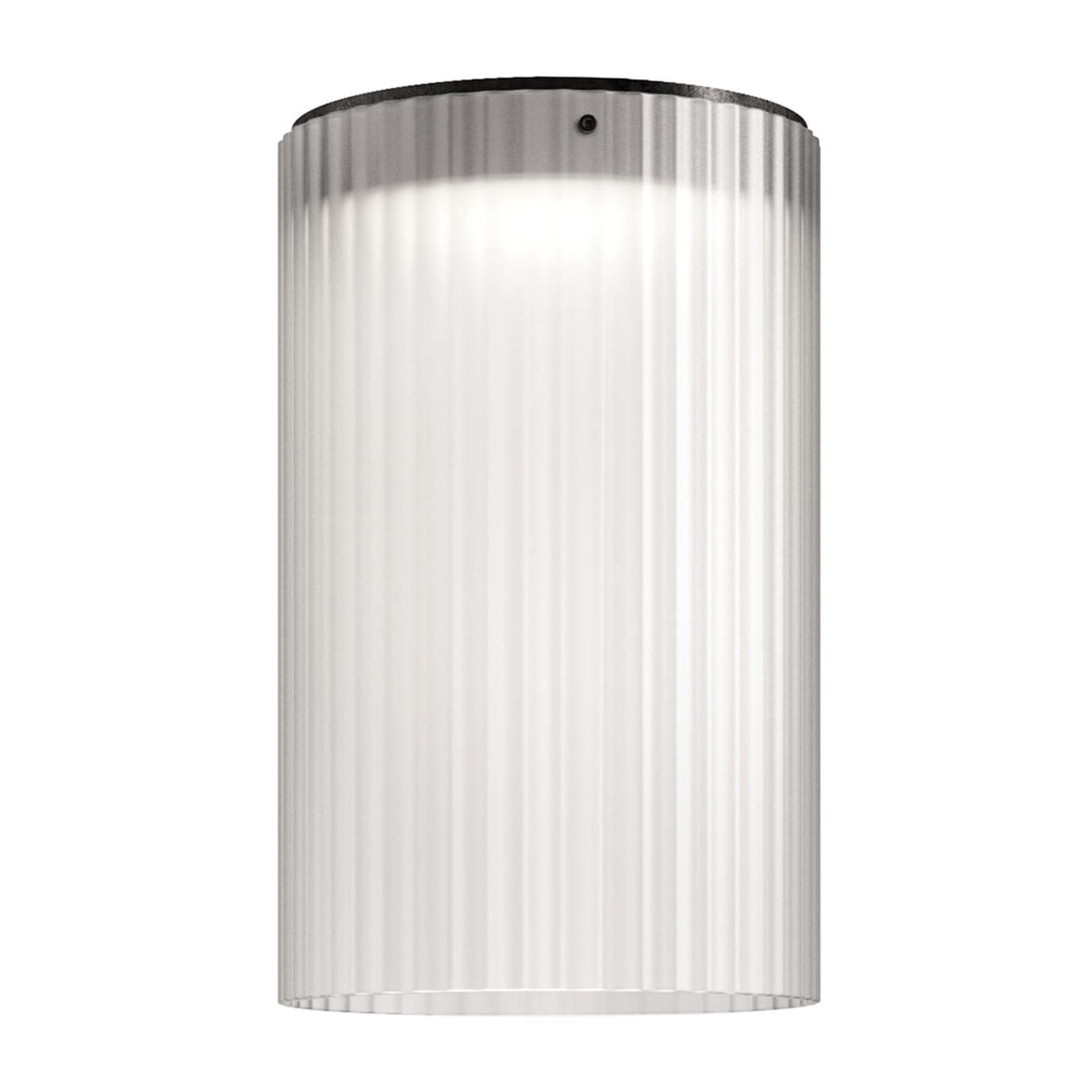 Kundalini Giass - lampa sufitowa LED Ø30 cm, biała