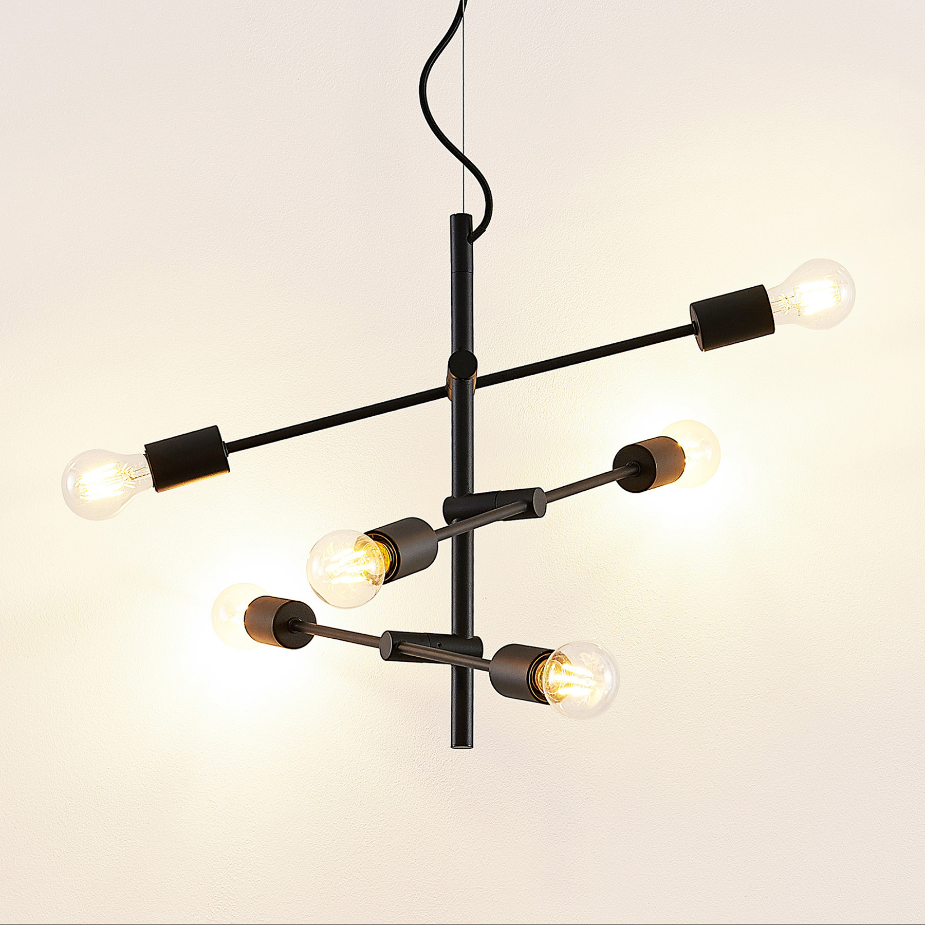 Lindby Estar suspension, à 6 lampes