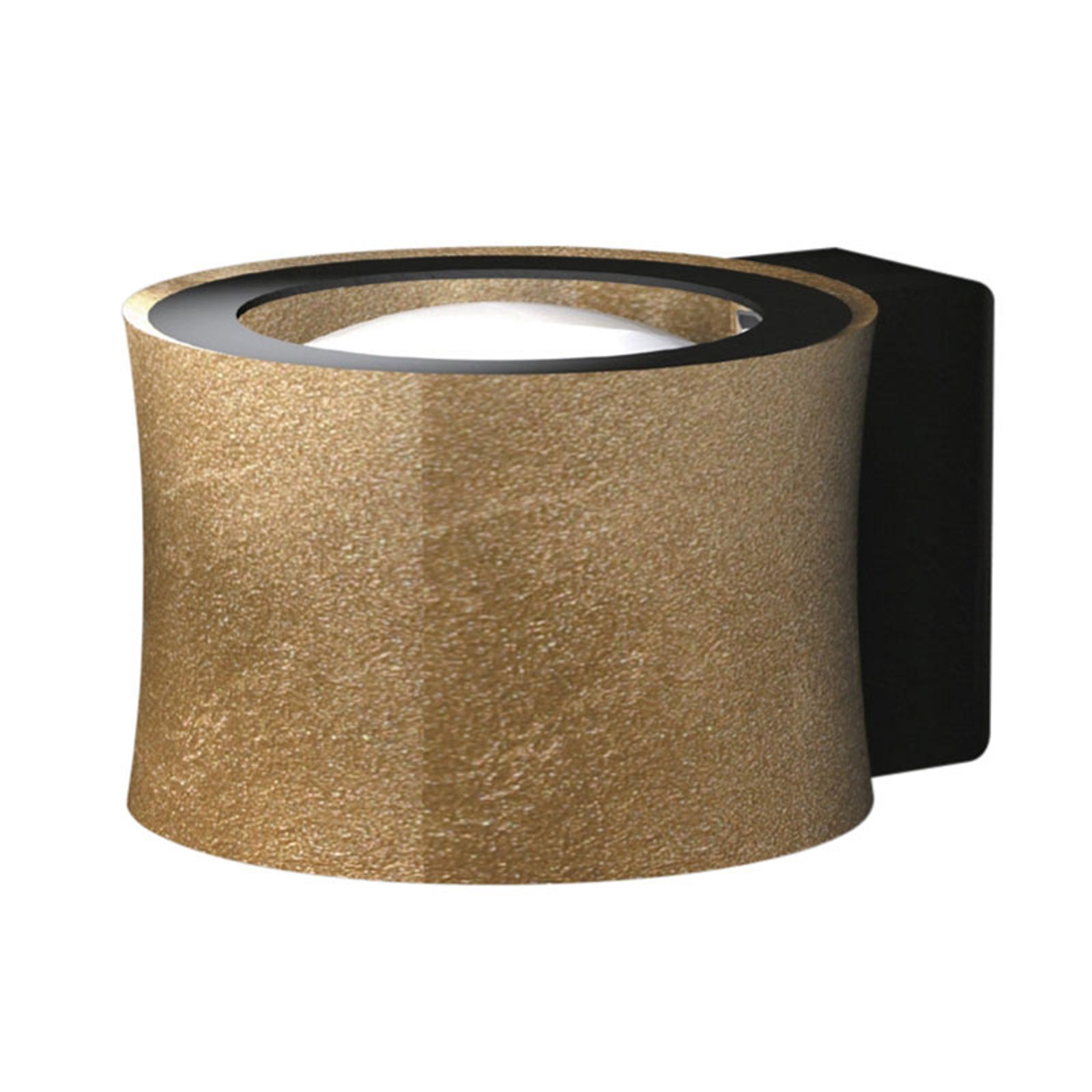 BANKAMP Impulse LED-Wandleuchte up/down gold