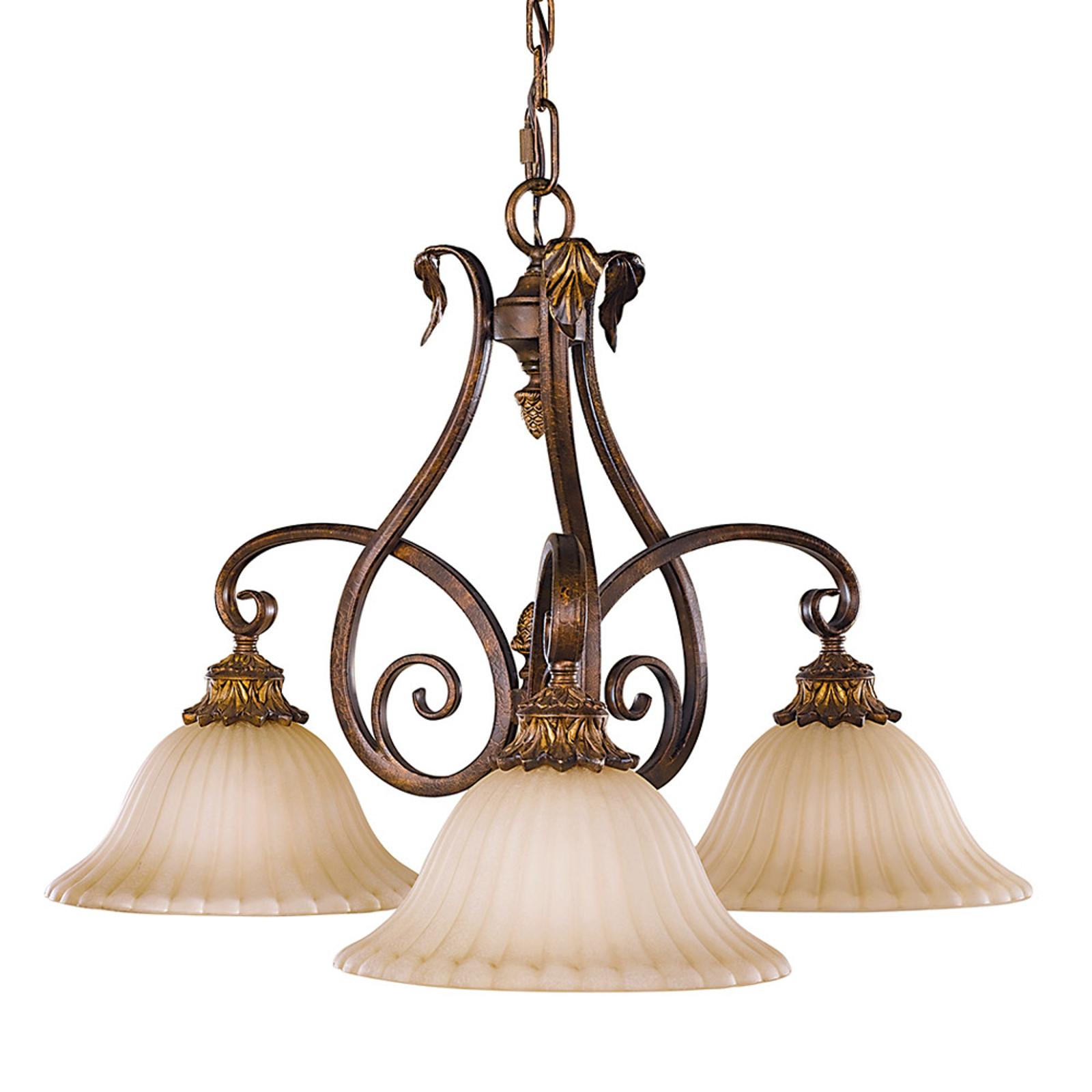 Sonoma Valley hængelampe, 3 lyskilder