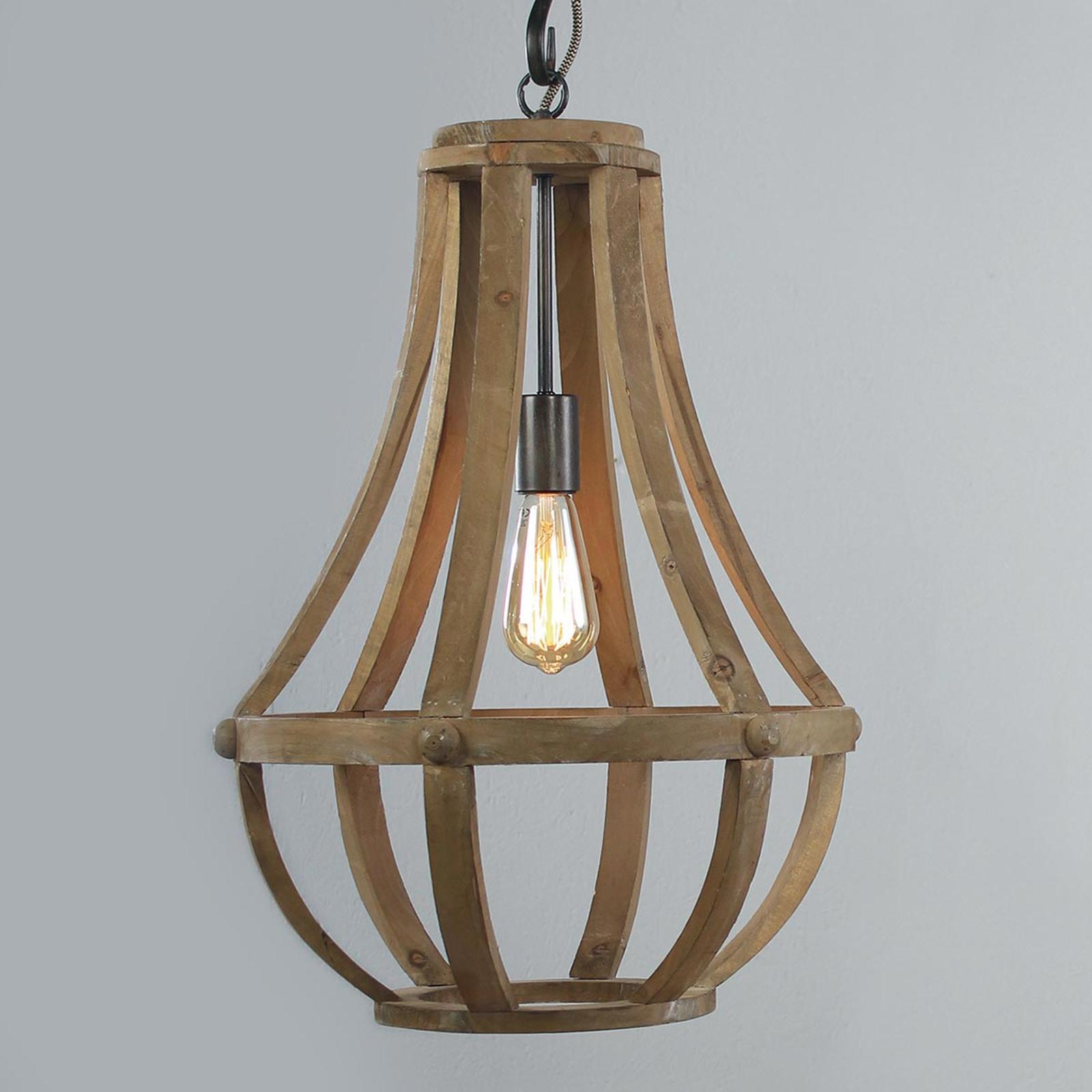 Suspension en bois Liberty Bell