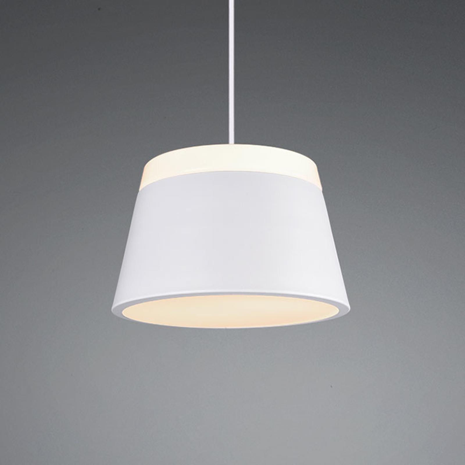 Lampa wisząca Baroness Ø 25 cm, biała