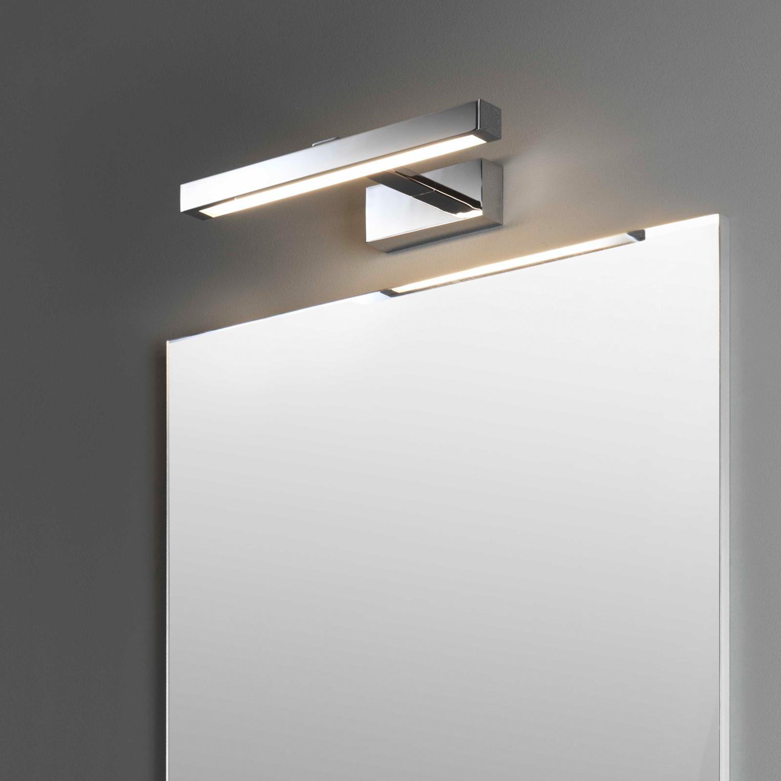 Astro Kashima 350 LED-spejllampe, krom, 35 cm