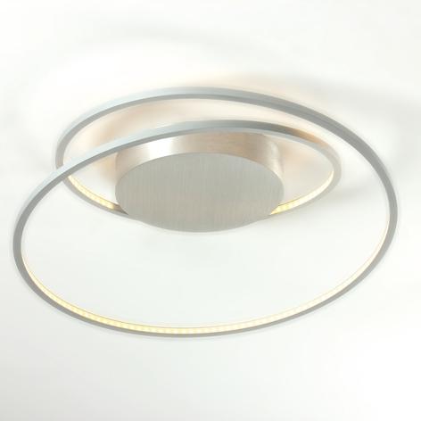 Bopp At LED-Deckenlampe aluminium 45cm