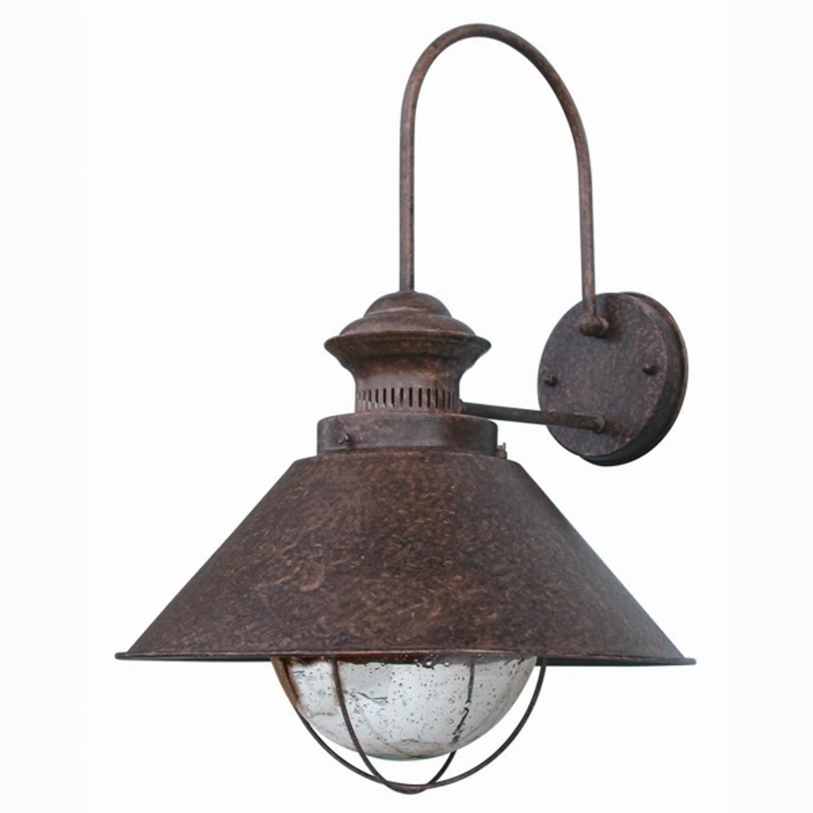 Magiczna zewnętrzna lampa ścienna Nautica 34 5 cm