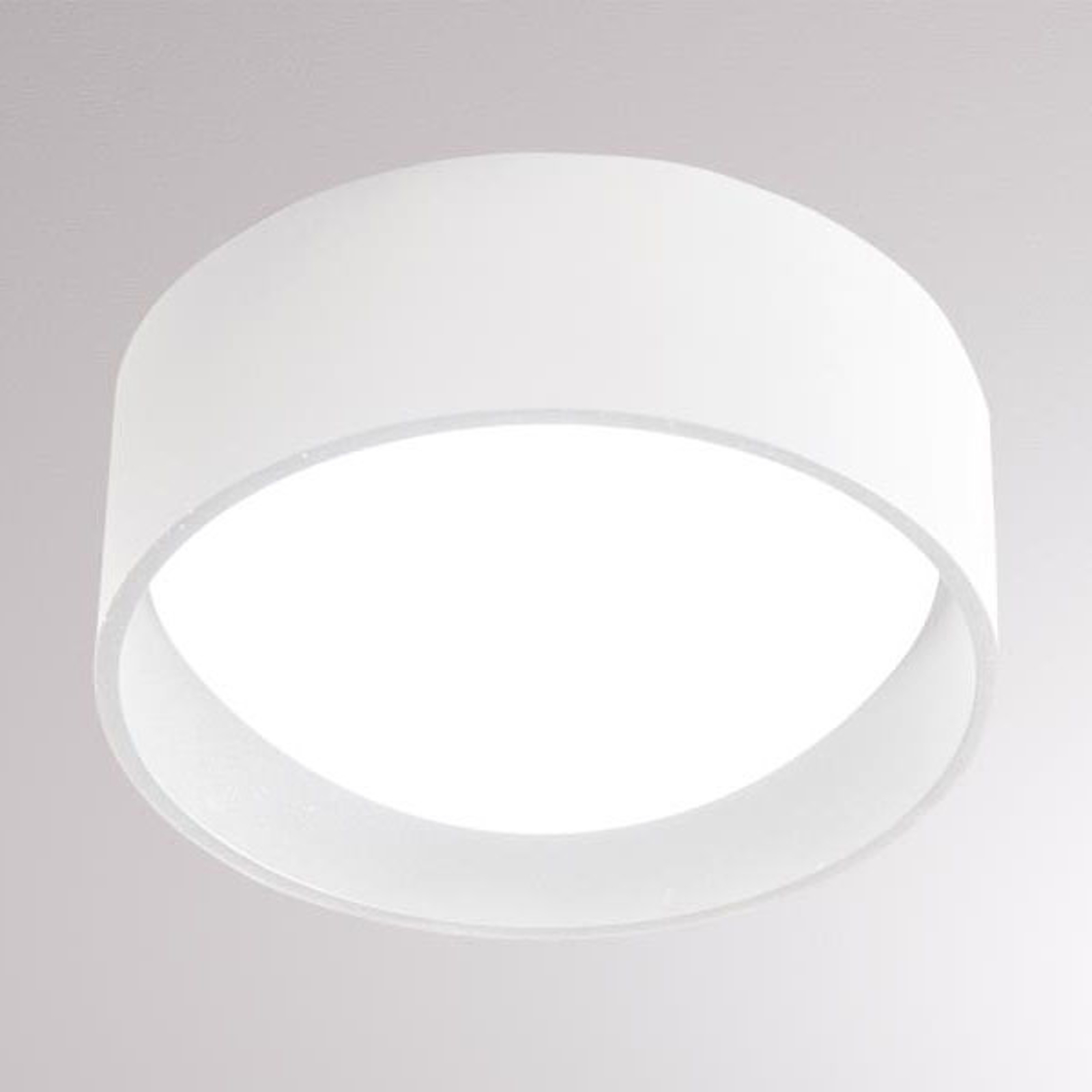 LOUM Yura LED plafondlamp wit