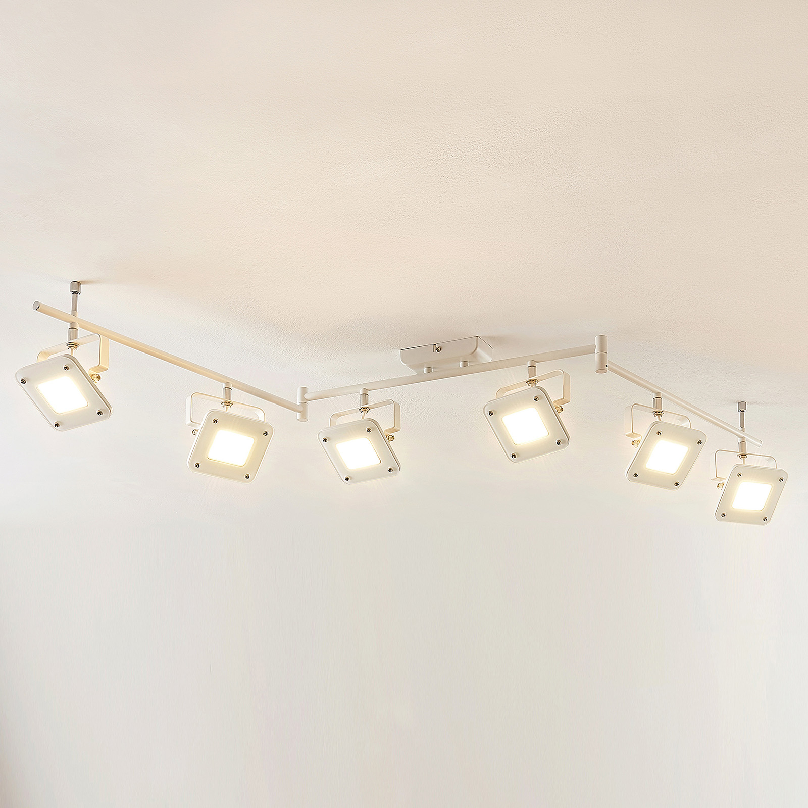 Spot pour plafond LED Juliana, dimmable, 6 lampes
