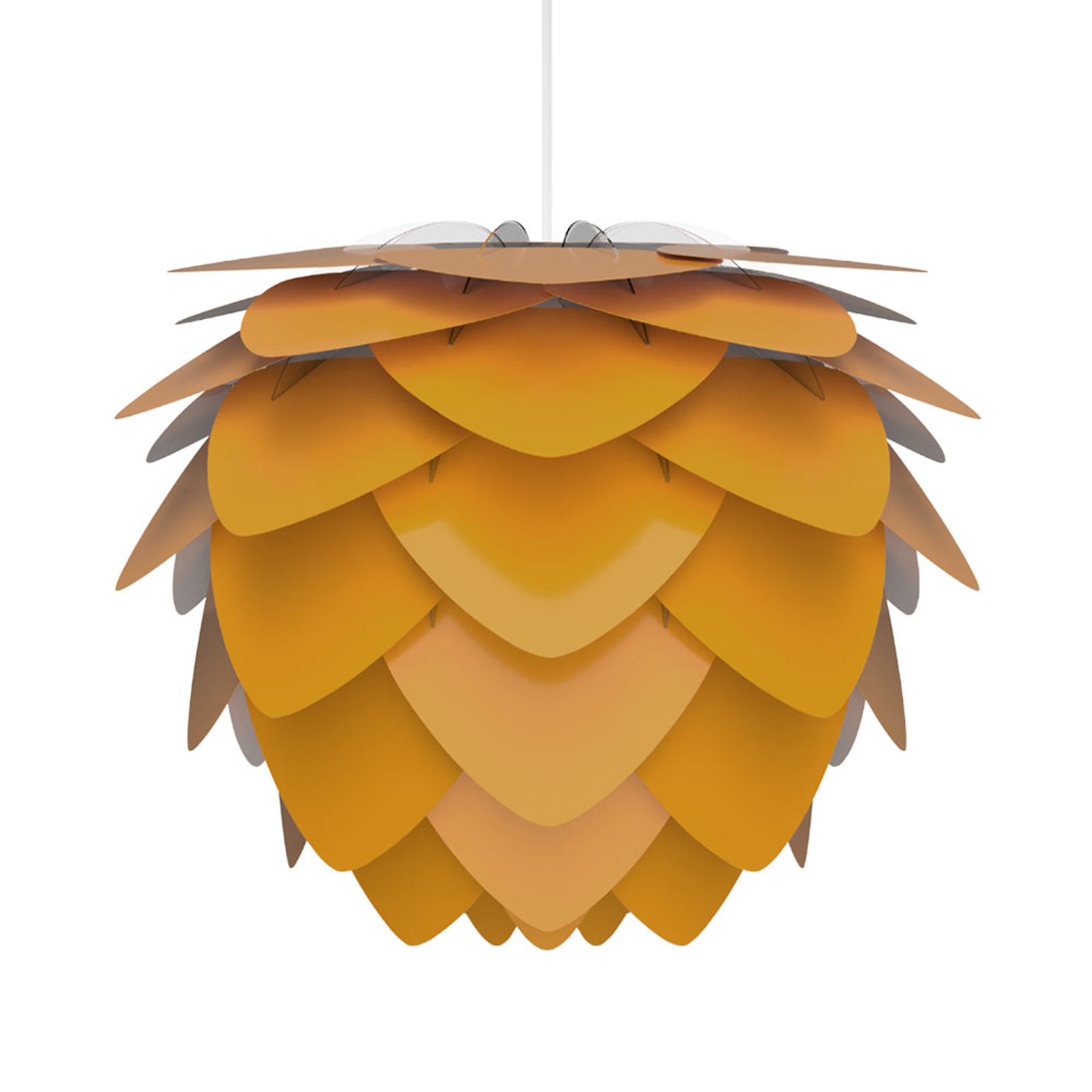 Závěsné světlo UMAGE Aluvia mini, žluté