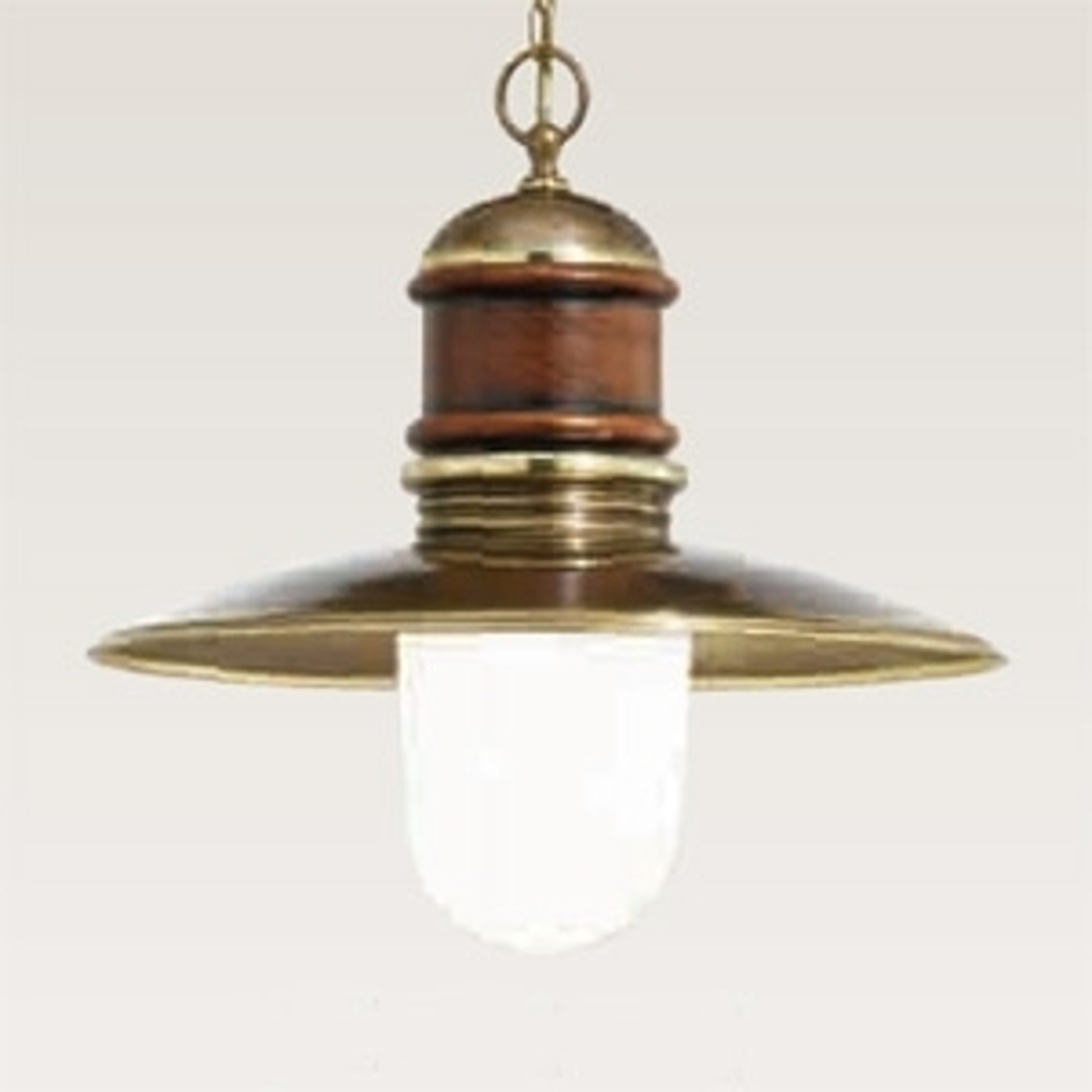 Jednozdrojové závěsné světlo Faro 31 cm