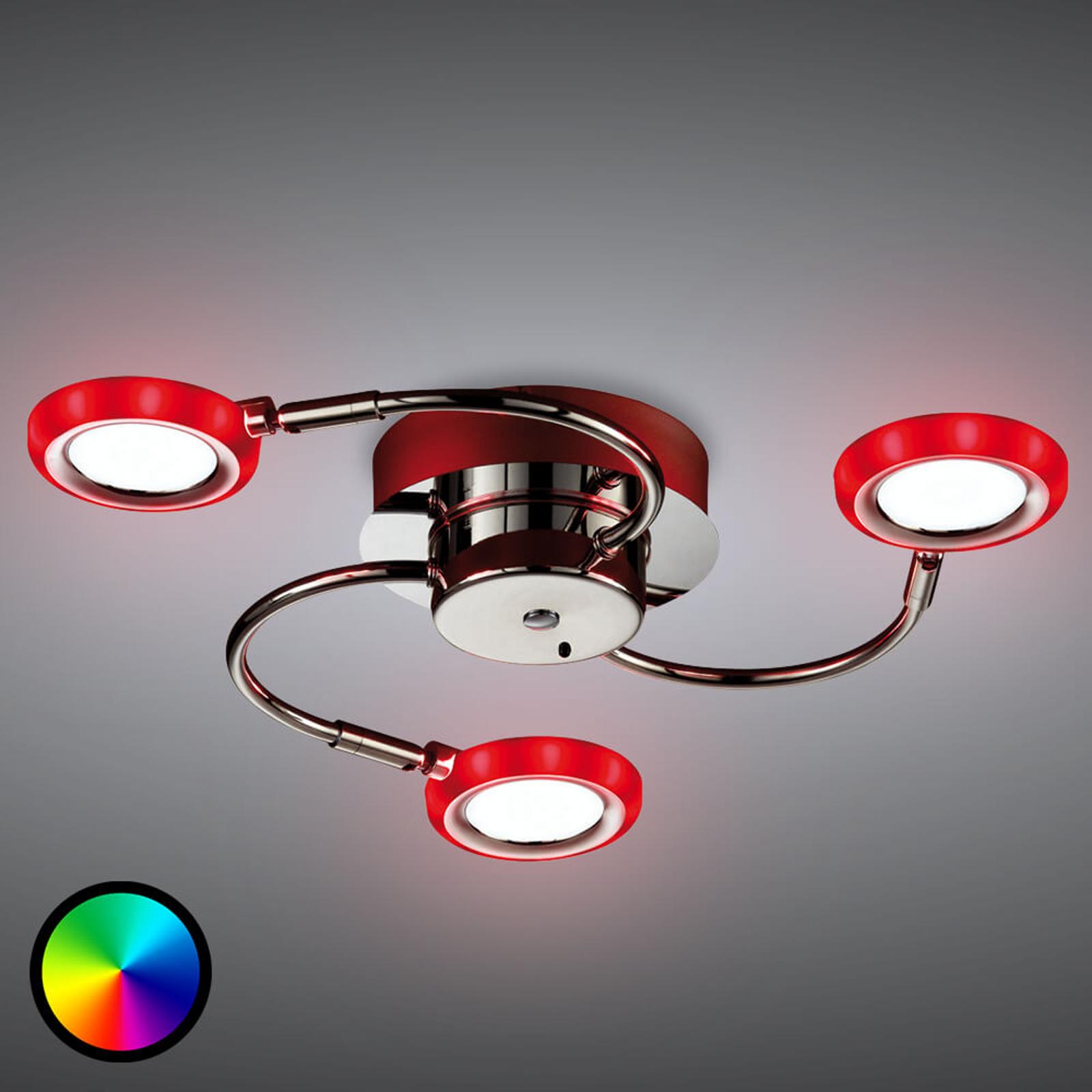 Lampa sufitowa LED Turner z efektami barwnymi