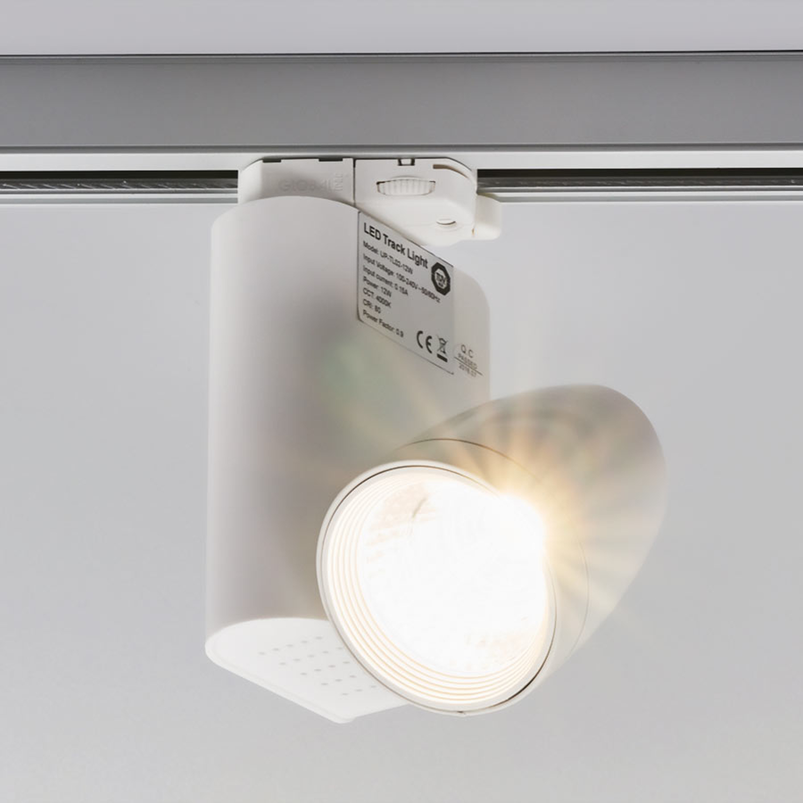 Three-circuit track system LED spotlight Colin_9967016_1
