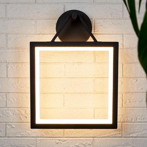 LED-Außenwandlampe Mirco, eckig, IP65