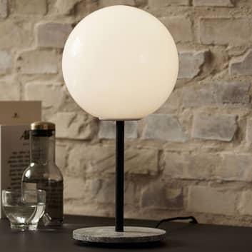 Menu TR Bulb DTW bordlampe 41 cm marmor/opal
