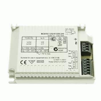 ELB 1/2 x 18 W TC-DEL/TEL BCS18.1-2Q-01/220-240