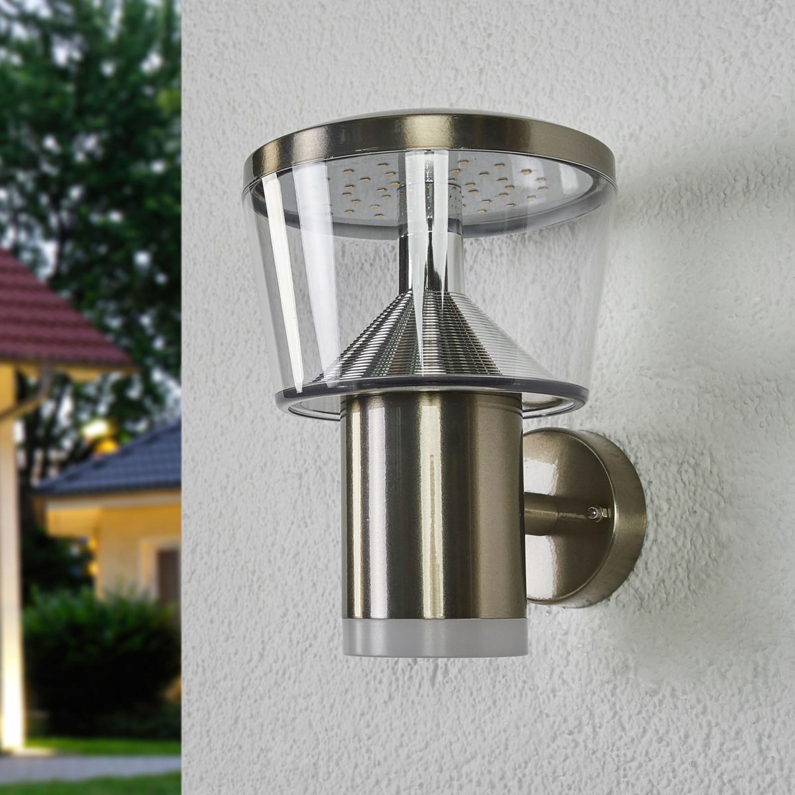 Applique d'extérieur LED en inox Antje