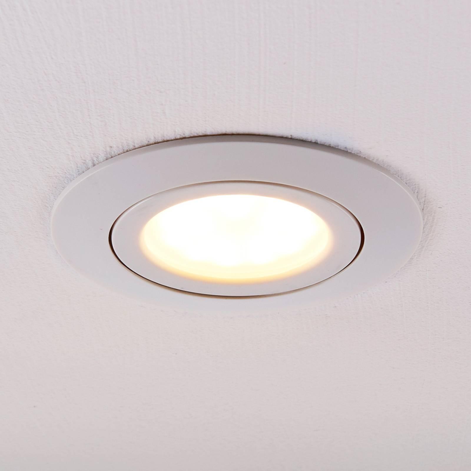Downlight LED Andrej, rotondo, bianco