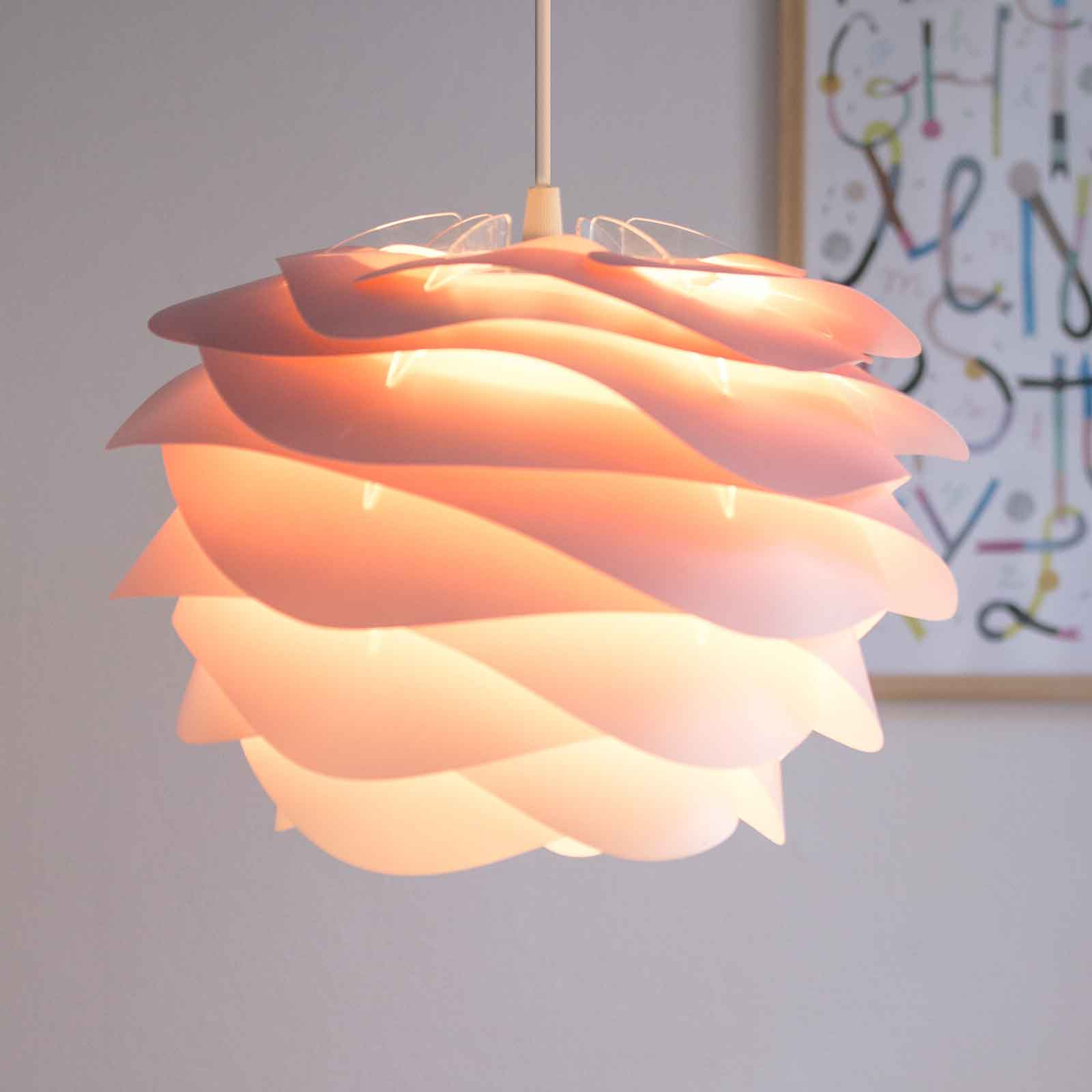 UMAGE Carmina Mini lampa wisząca różowa