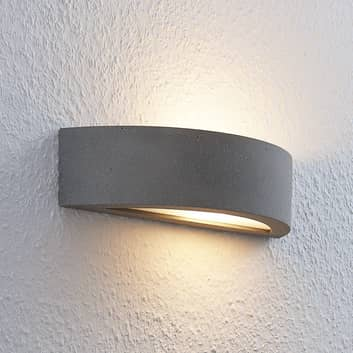 Lindby Elvira aplique LED semicircular, easydim
