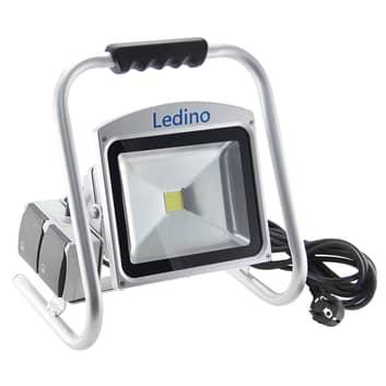 Reflektor budowlany LED Eros z 2 gniazdami, IP65