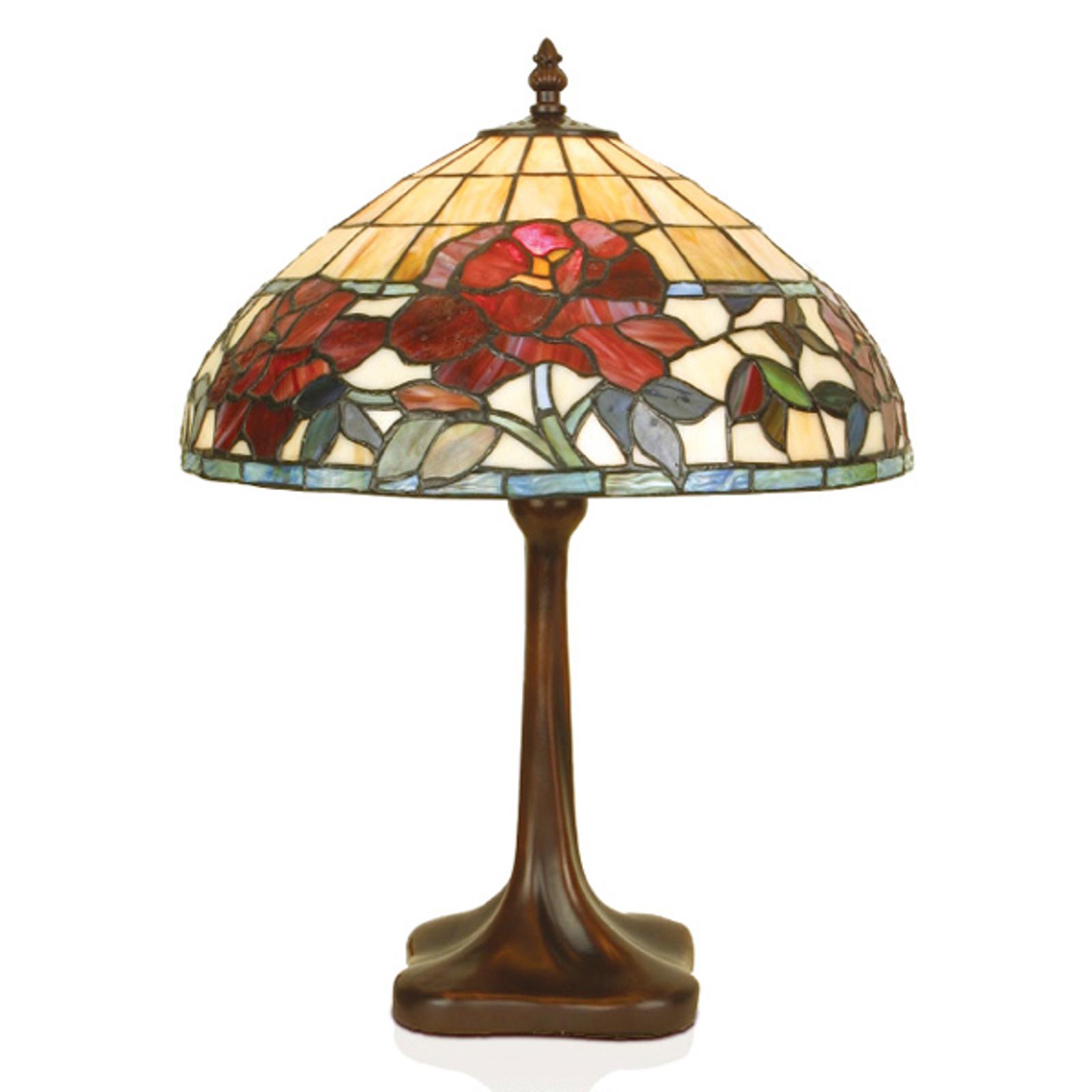 Ręcznie wykonana lampa stołowa FINNA