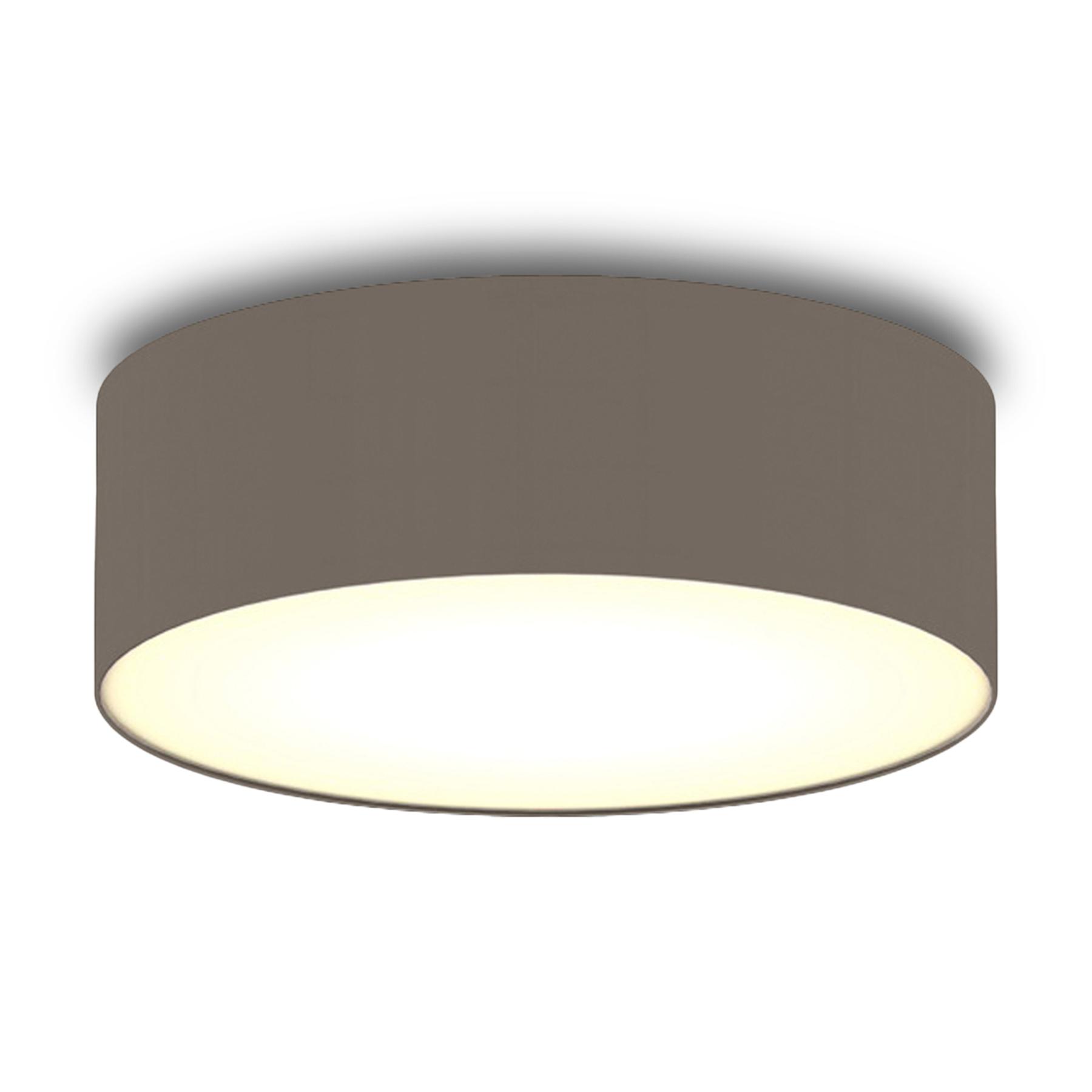 Bruine textiel-plafondlamp Ceiling Dream 30 cm