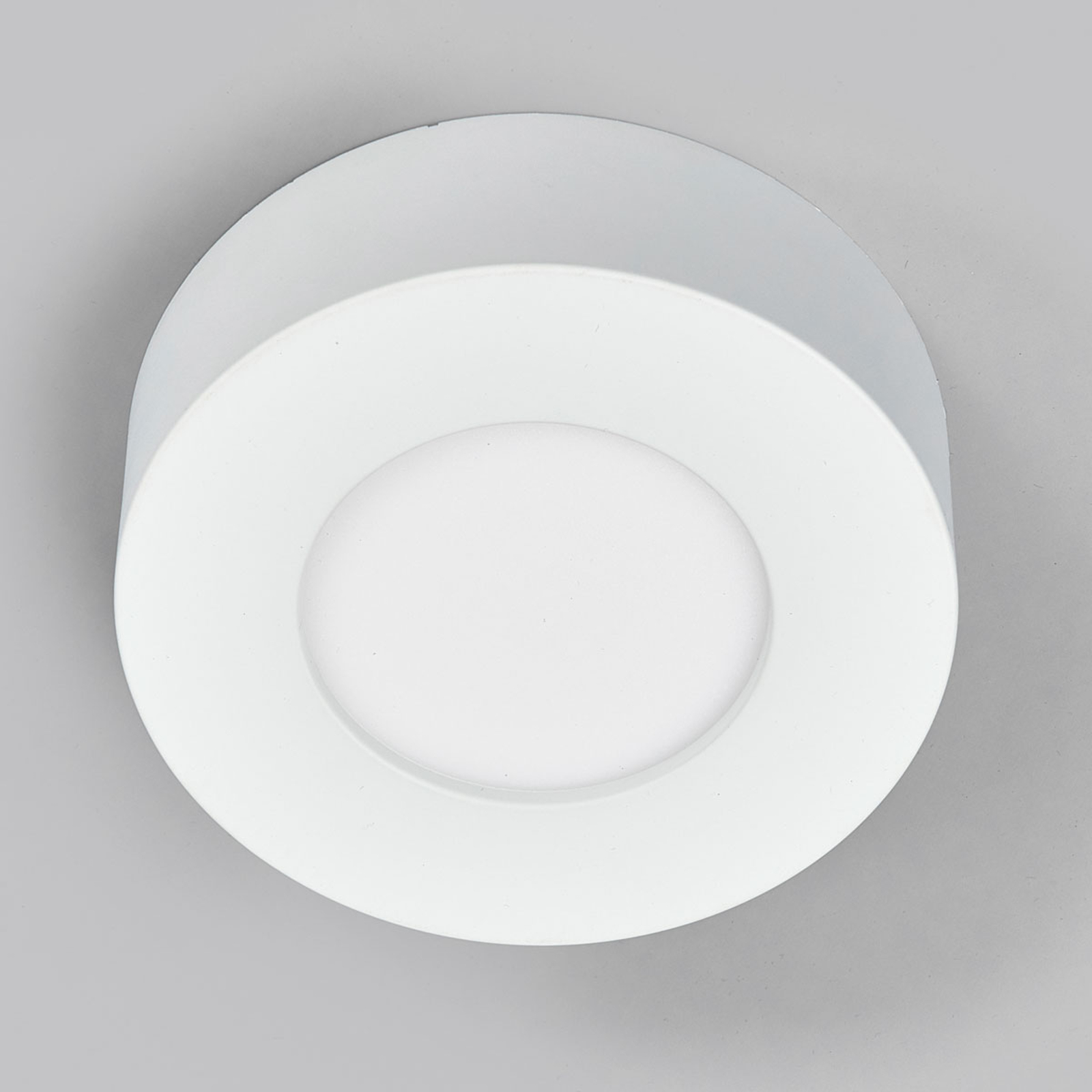 LED-Deckenlampe Marlo weiß 4000K rund 12,8cm