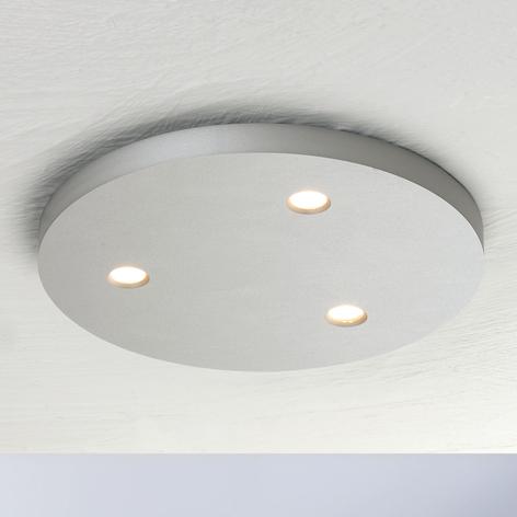 Bopp Close plafonnier LED à 3 lampes rond