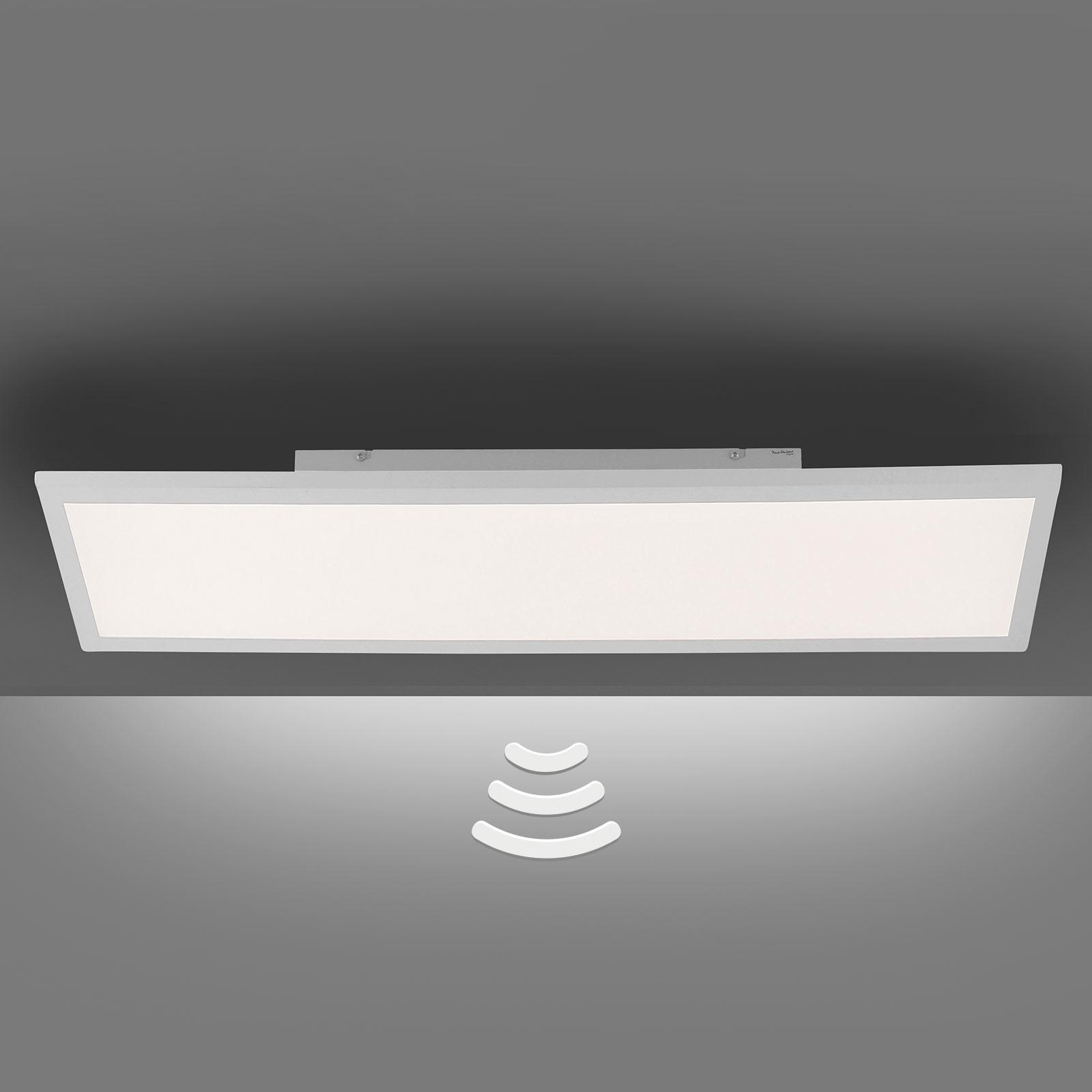 LED plafondlamp Fleet met bewegingsmelder 60x30 cm