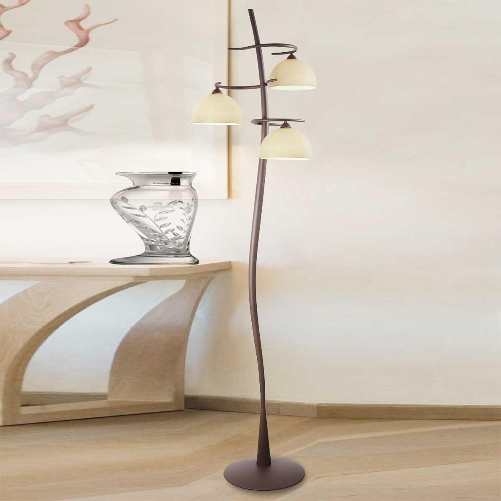 Lampa stojąca Christian trzypunktowa