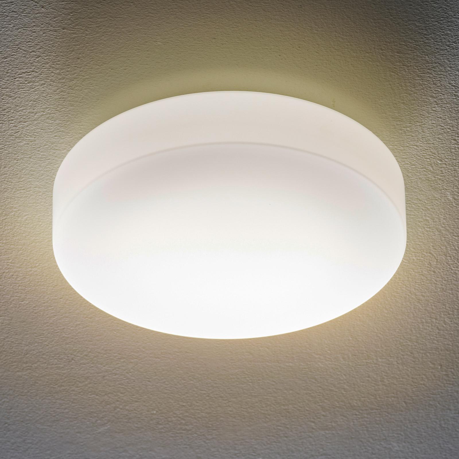 BEGA 34287 LED-loftlampe, glas DALI 4000 K Ø 34 cm