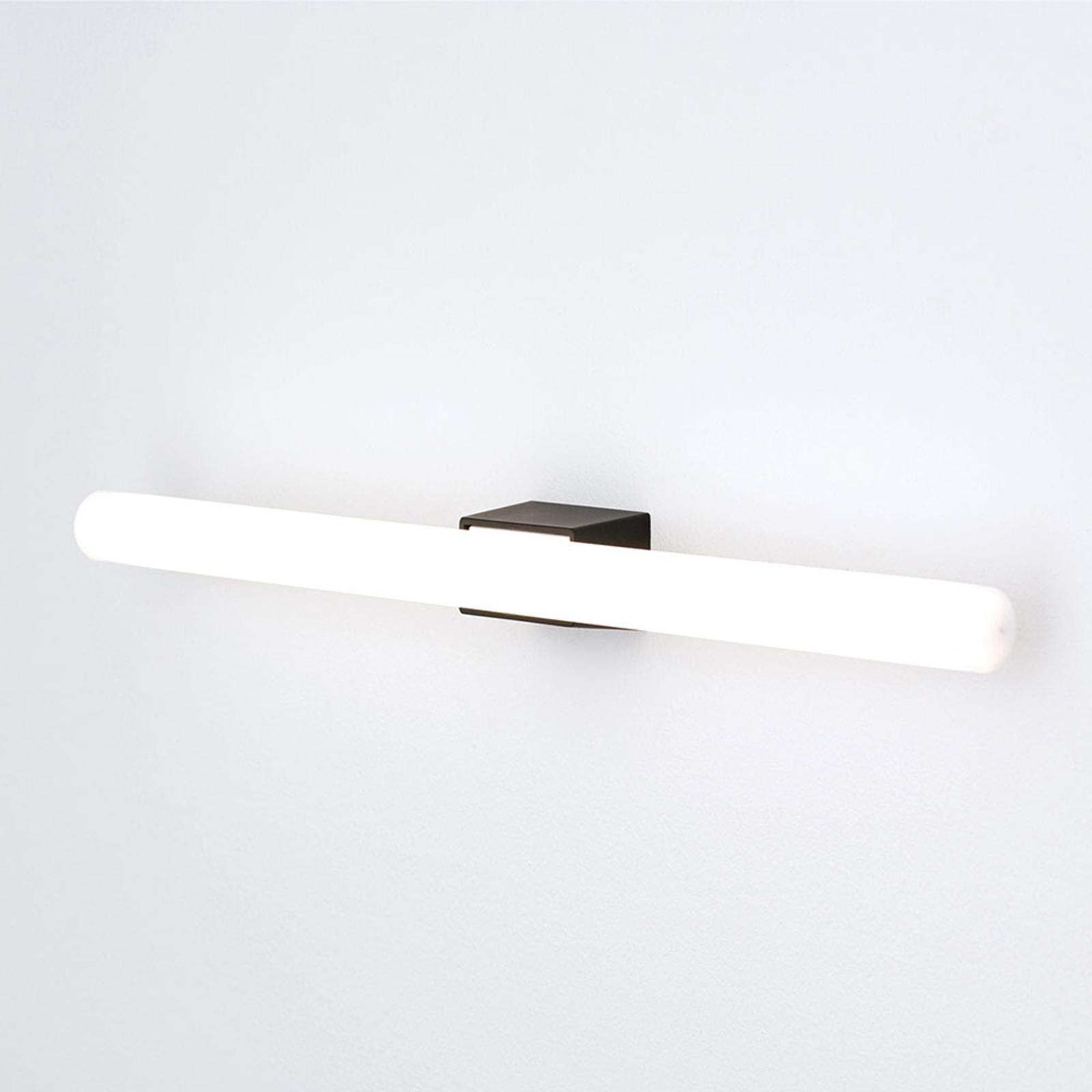 LED-spegellampa Visagist, svart fäste