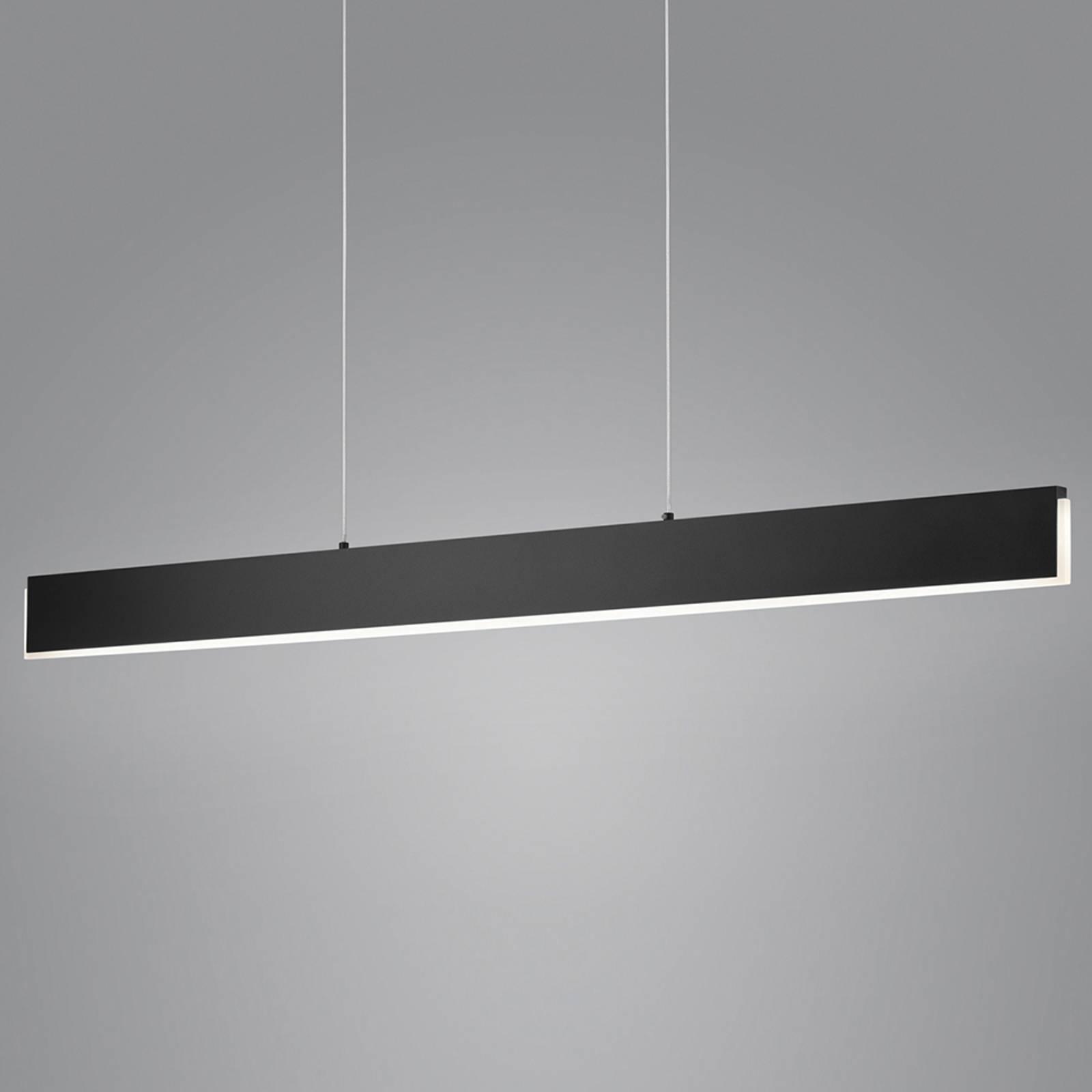 Helestra Nex LED-Pendelleuchte schwarz matt