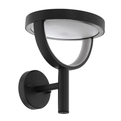 LED-ulkoseinävalaisin Francari, antrasiitti