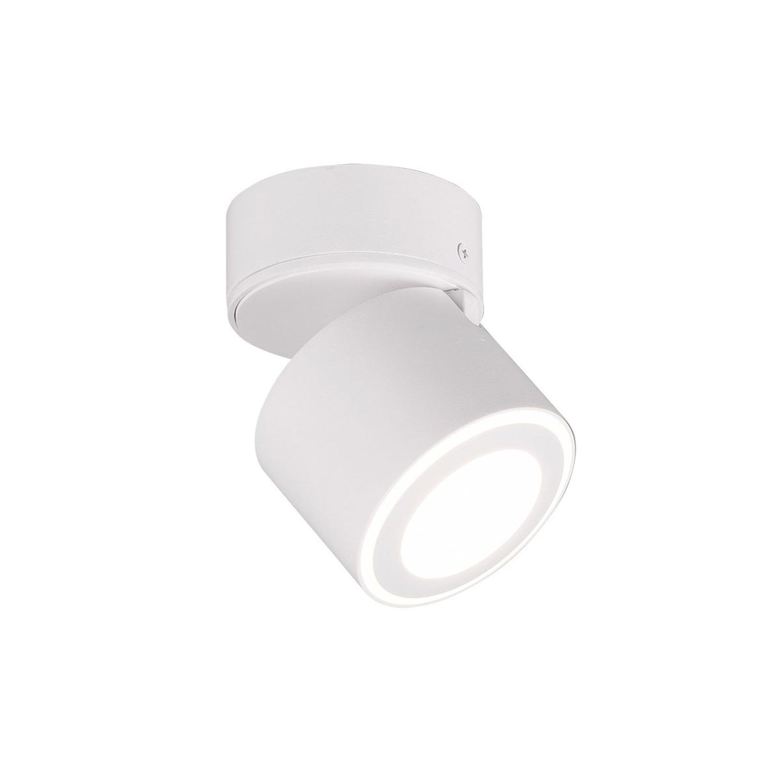 Lindby Lowie LED-spotlight, 2 lampor, vit
