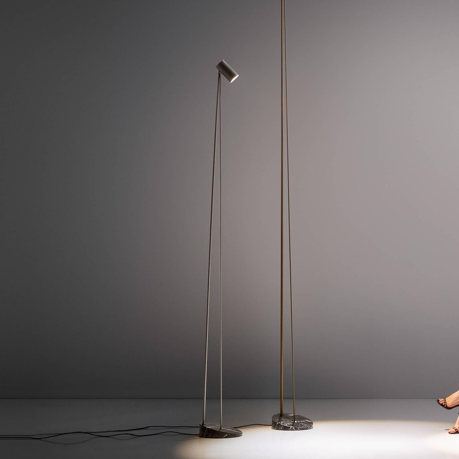OLEV Boom lampadaire LED 240cm IP20 bruni