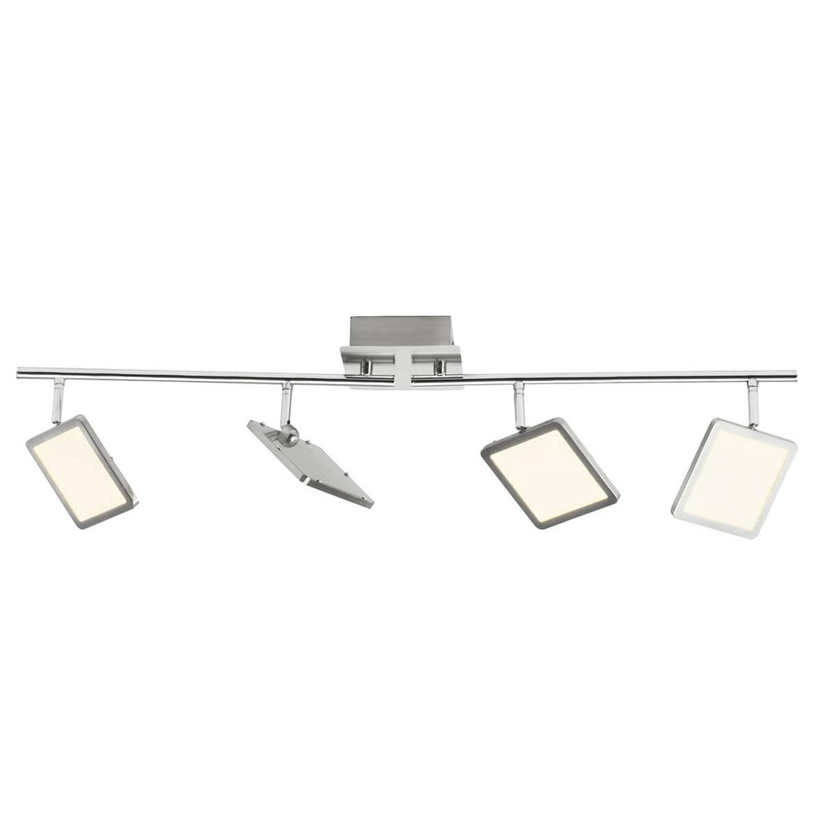 Plafonnier LED à 4 lampes Uranus, Easydim
